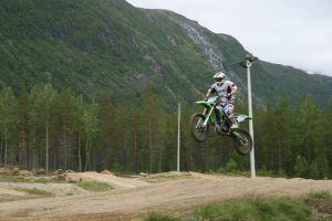 Patrick start nr 850 i Alta eller nordreisa. 06.2013